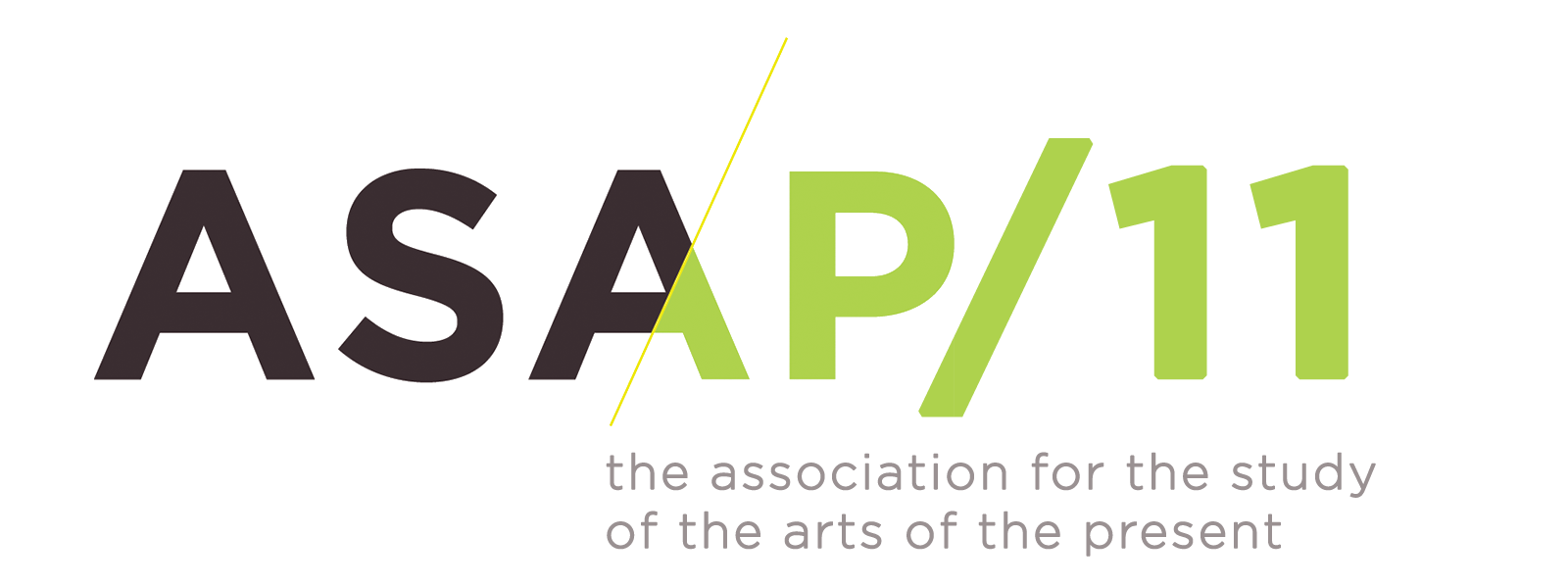 Logo: ASAP11: Eleventh Meeting of the Association for the Study of the Arts of the Present