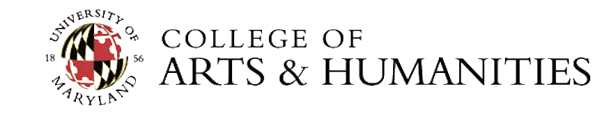 Logo: College of Arts & Humanities at the University of Maryland